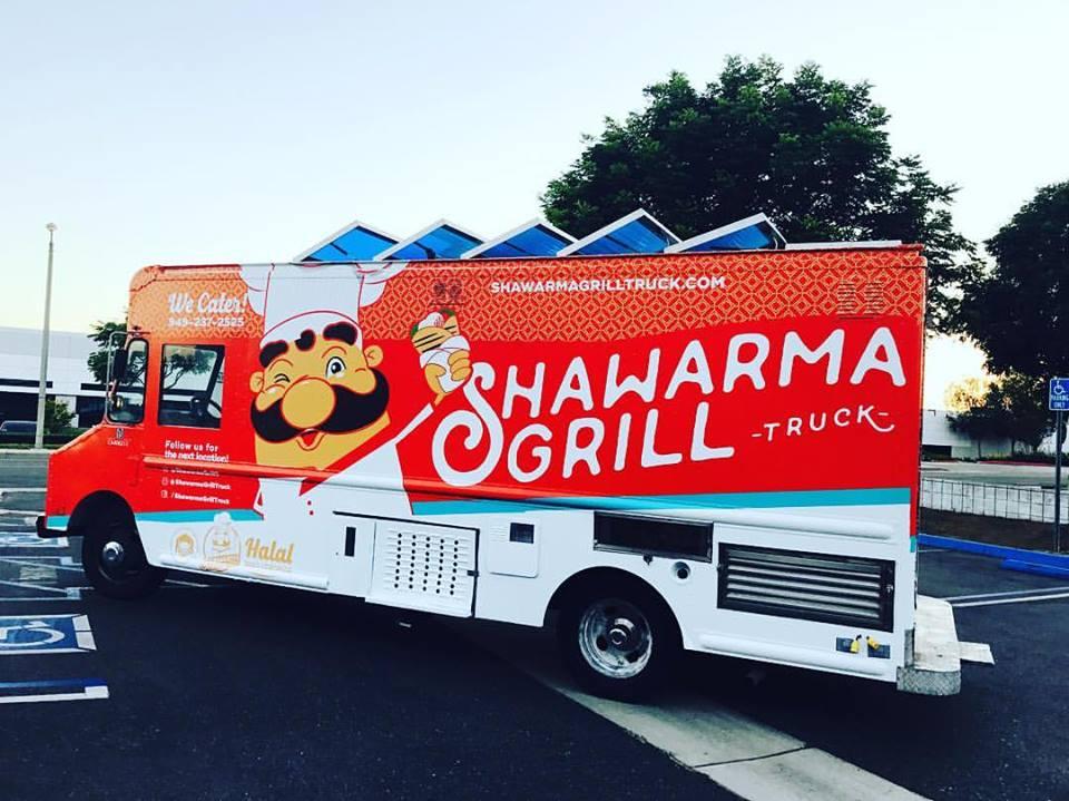 Shawarma Grill Truck